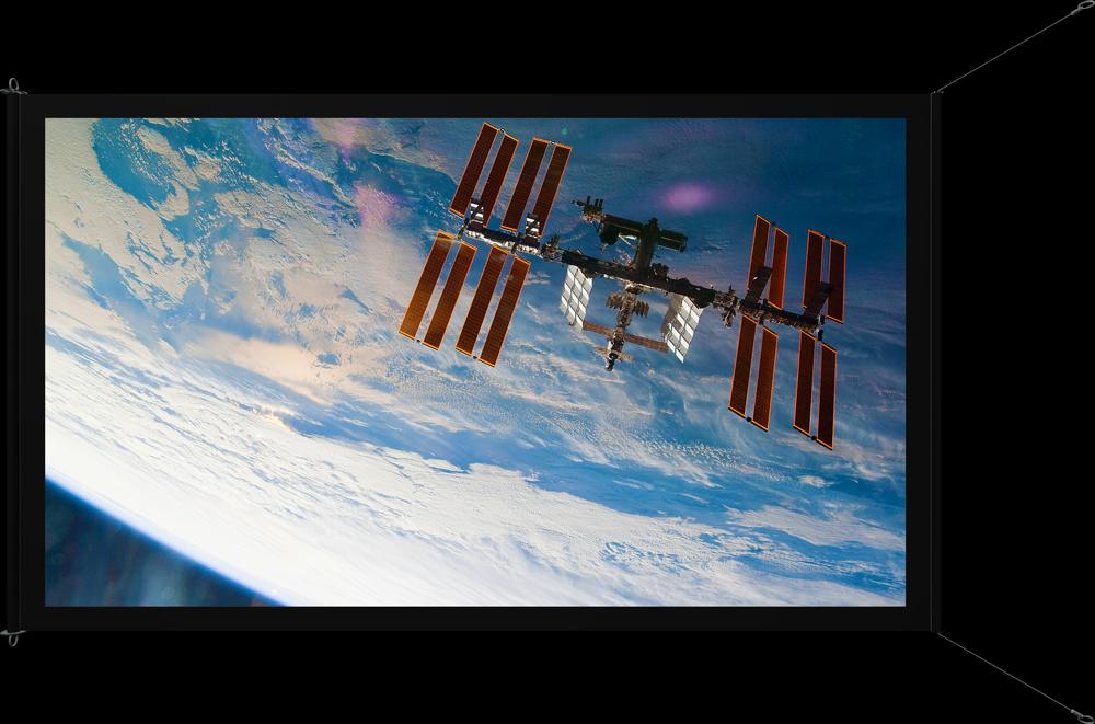 NASA Deployed - front view