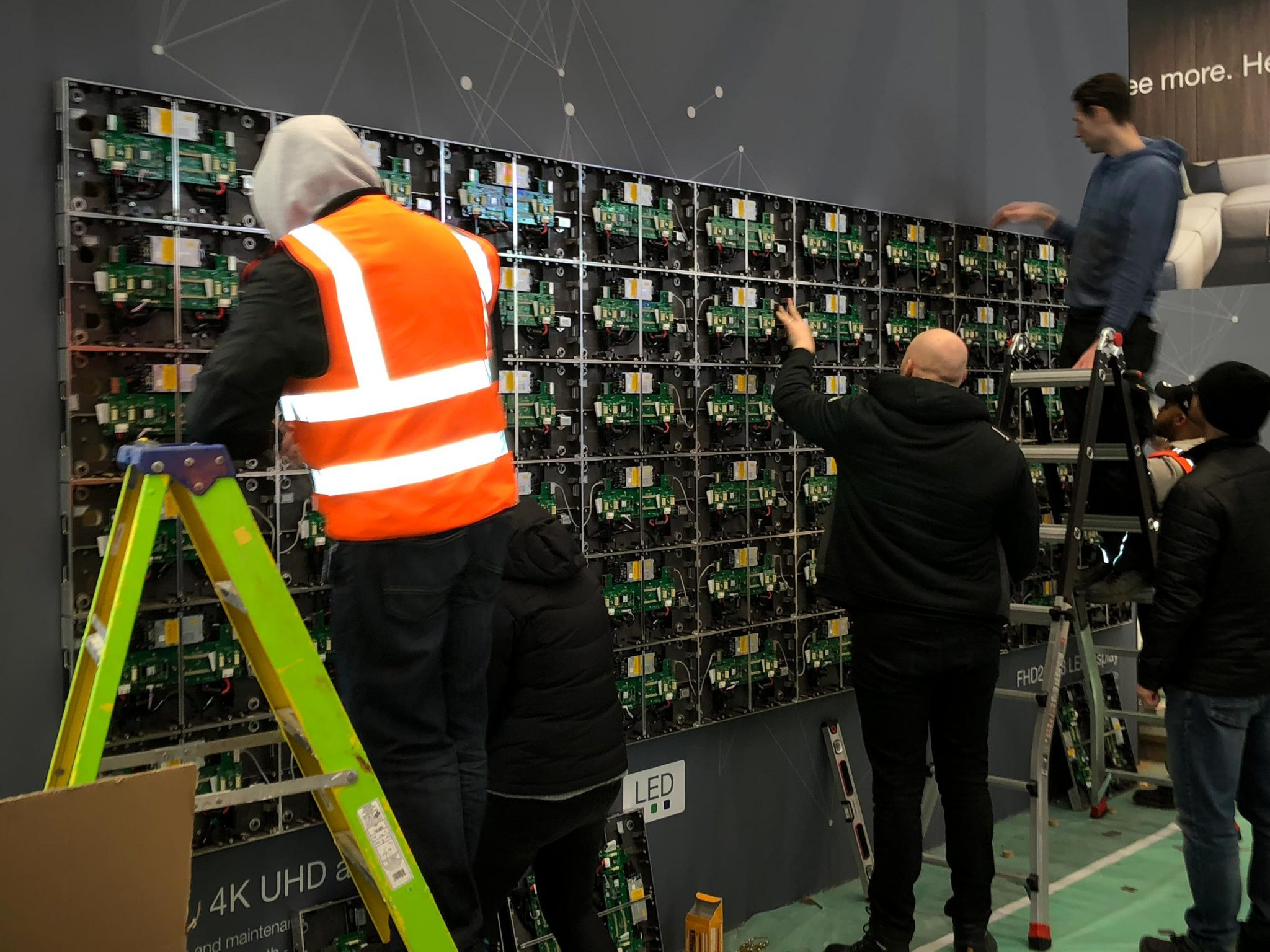 LED Video Wall Nightmare