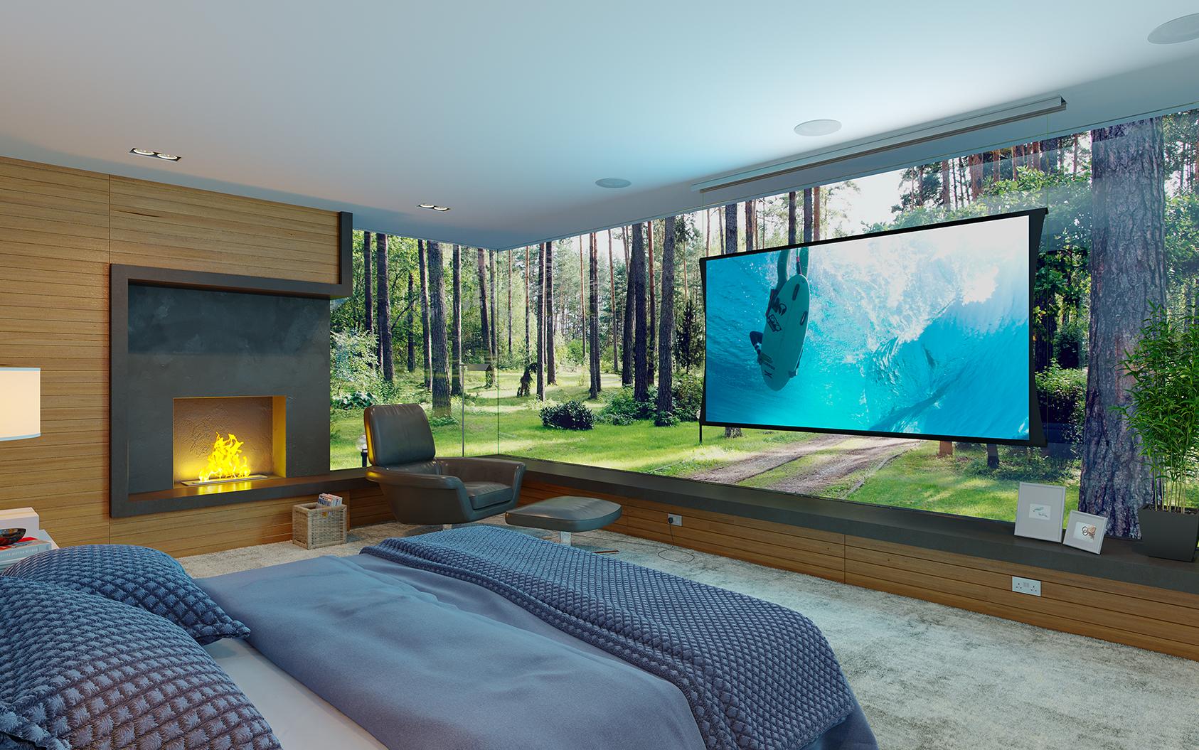 Zero-G Bedroom Projection Screen default-thumb