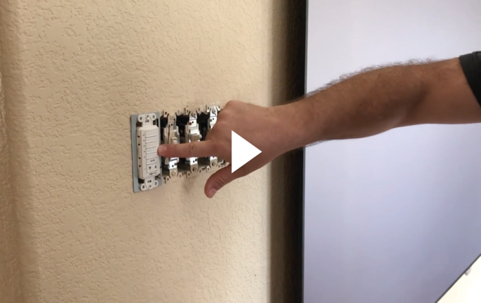 Wireless In-Wall RF Remote On-Top of a Stud