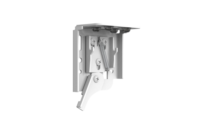 Ceiling and Wall Bracket - Front Angle