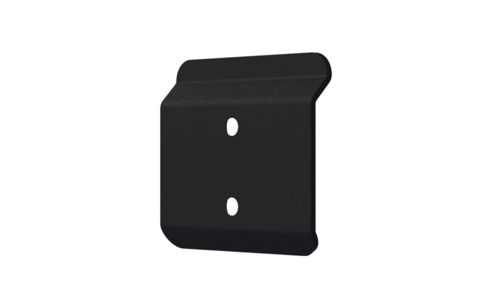 Zero Gap Wall Bracket - Rear Angle