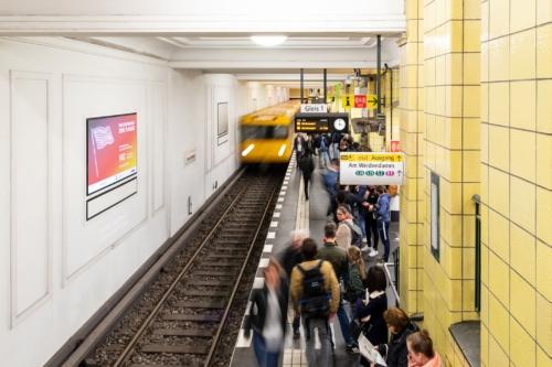 Black Diamond - The Wall - Bahnhof Friedrichstrase