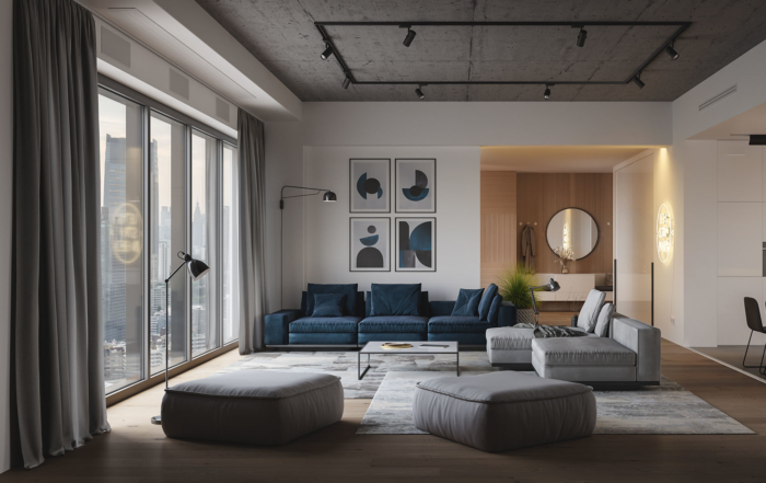 Veil living room