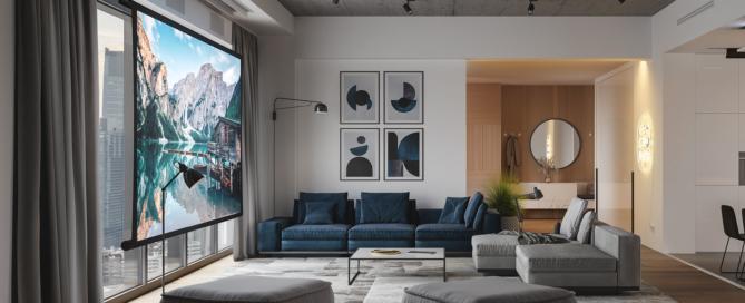 Veil living room with Zero-G