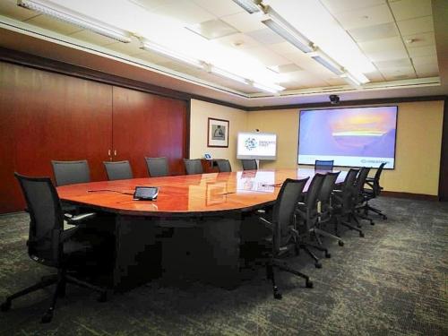 Inteliksa conference room - Zero Edge with Pure Gray