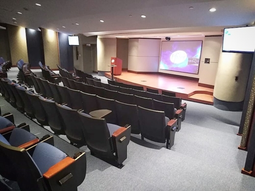 Inteliksa Auditorium - Zero Edge with Pure Gray