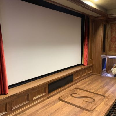 Lynn's Audio Video Theater Room
