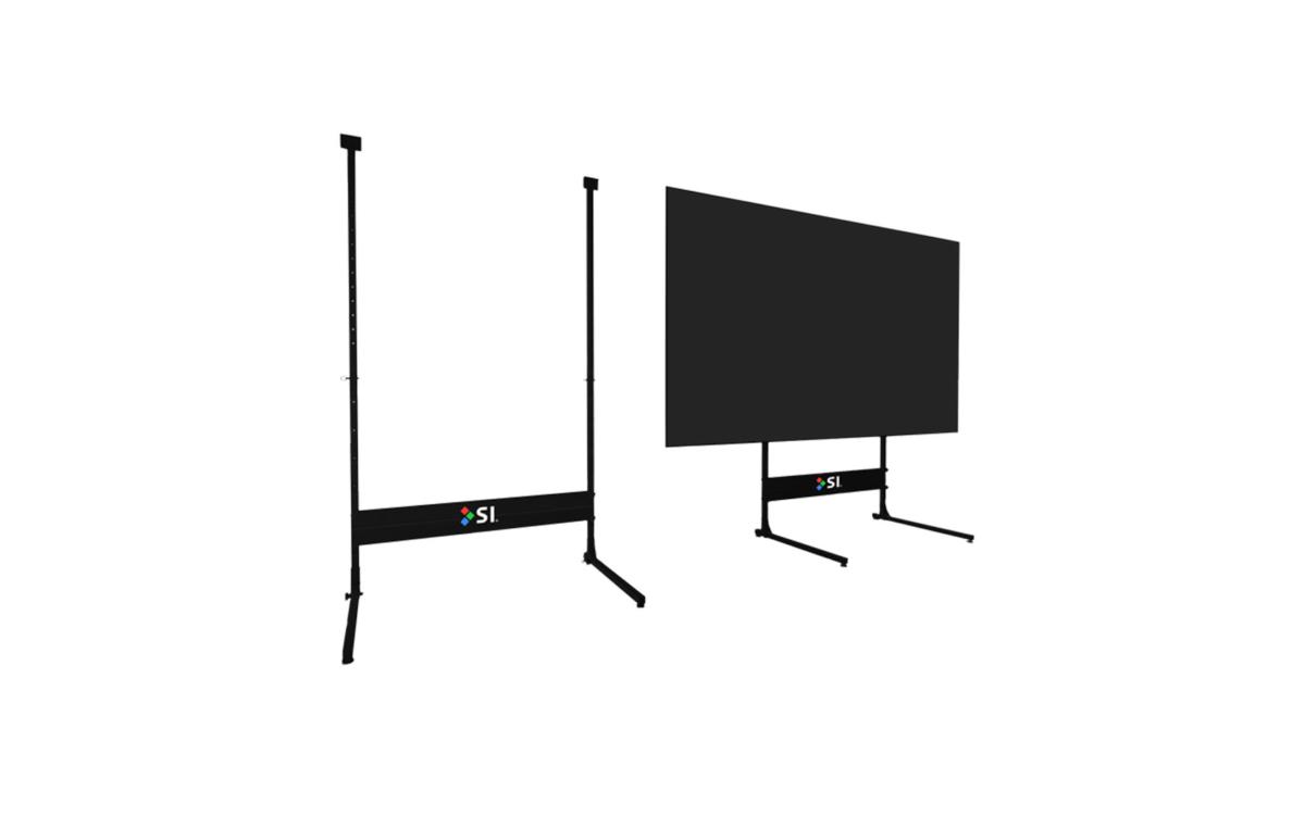 Zero Edge Projection Screen Stand