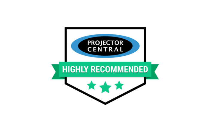 Projector Central - Highly Recommended Award