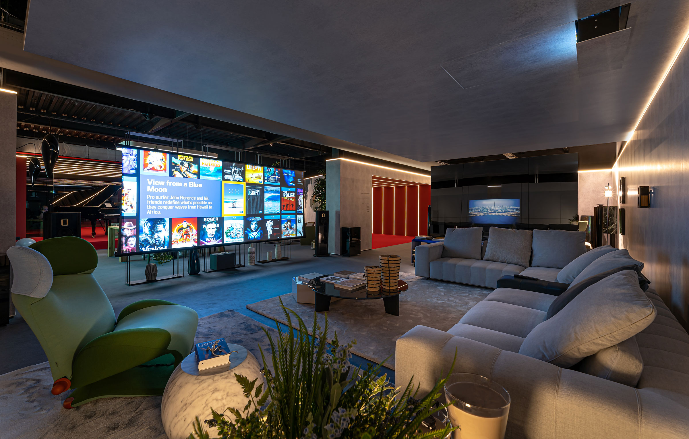 Levitating Showroom Demo Sets a New Media Room and Home Theater Standard
