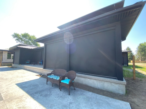 Unlimited Home Theatre, Zen motorized shades