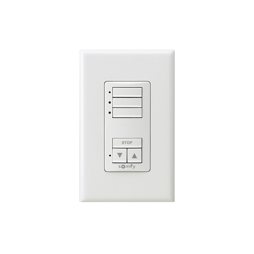 SDN DecoFlex Digital Keypad 6-Button - White