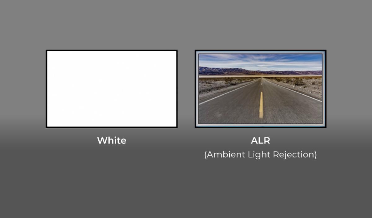 Screen ALR vs White