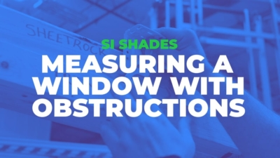 Measuring a Window with Obstructions