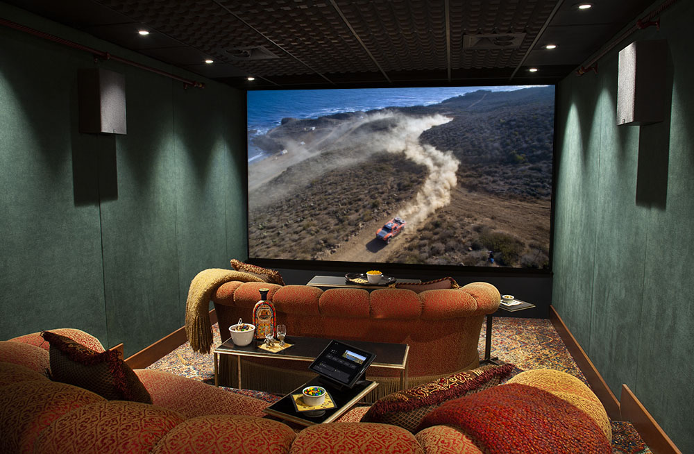 2020 - CEDIA - Best Integrated Home - Biggest Little Theater