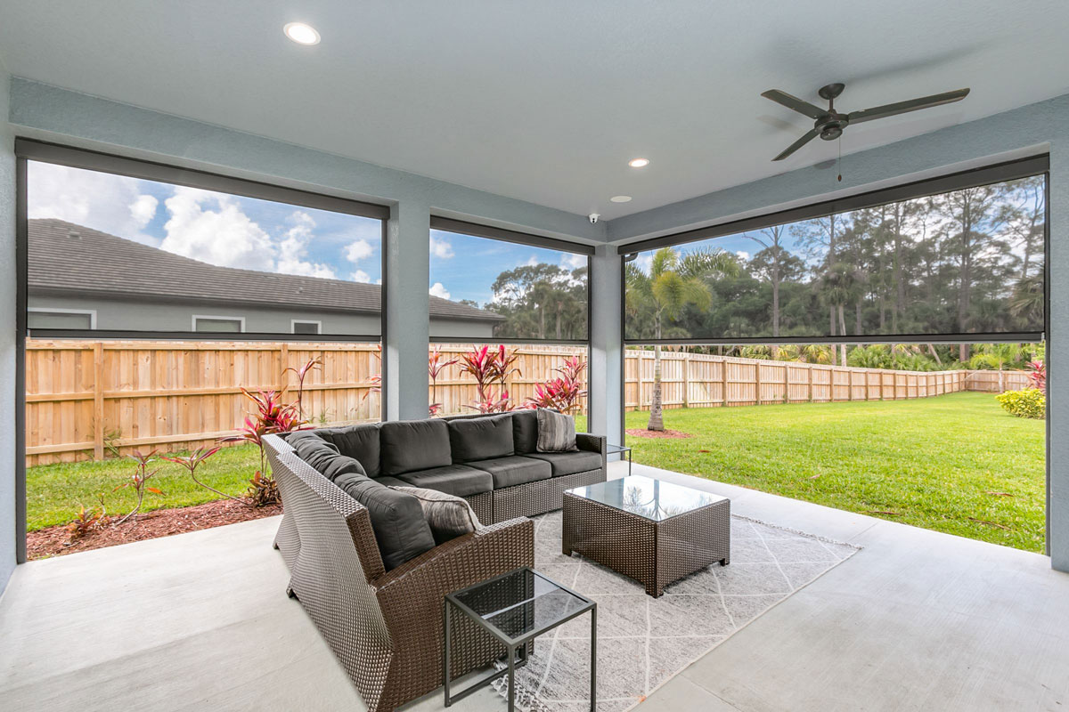 AVLT Solutions - Florida - House 1 - Shade Half Way