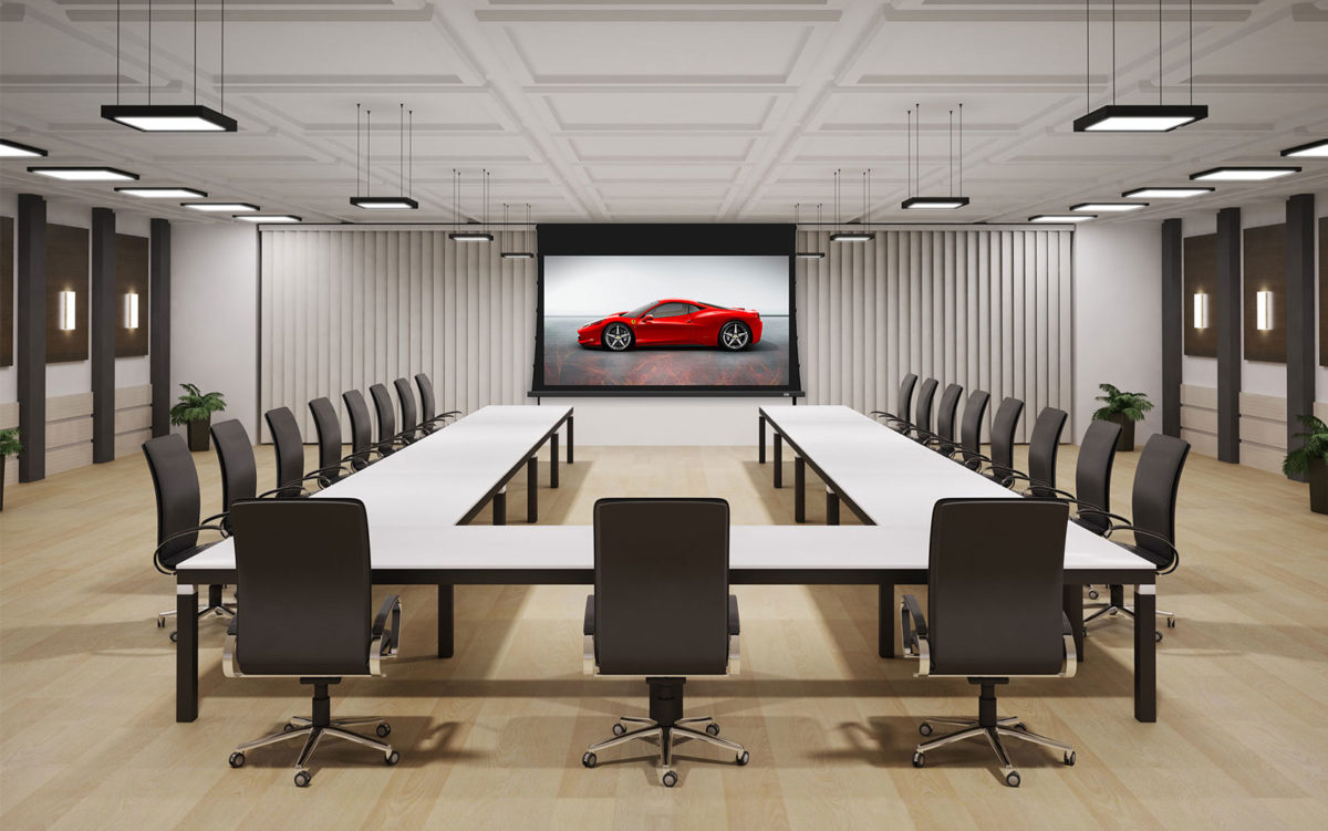 3 Motorized Conference Room